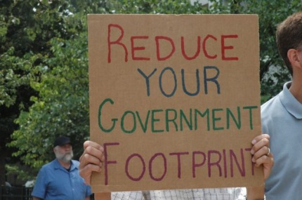 Reduce Your Government Footprint